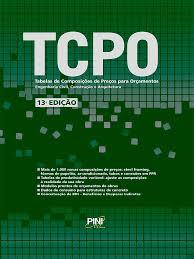 Orçamento de obras capa TCPO