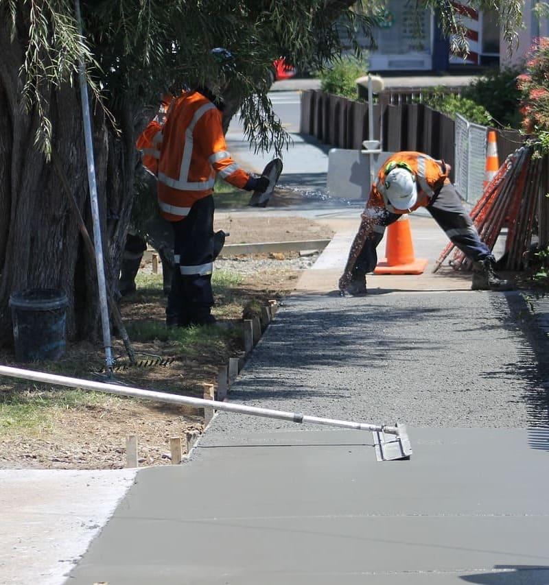 Gerencia de Obras Img Concretagem Calçada