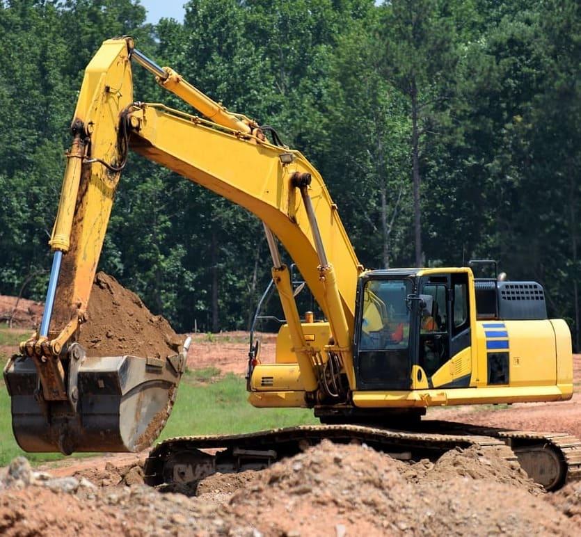 Gerencia de Obras Img Escavadeira