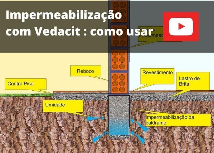 Como usar o Vedacit: video