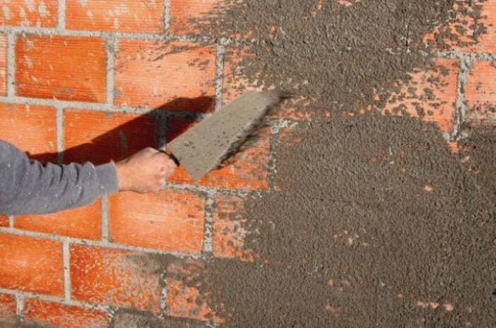 Chapisco em parede