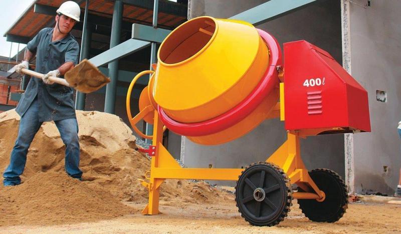 concreto usinado ou rodado na obra