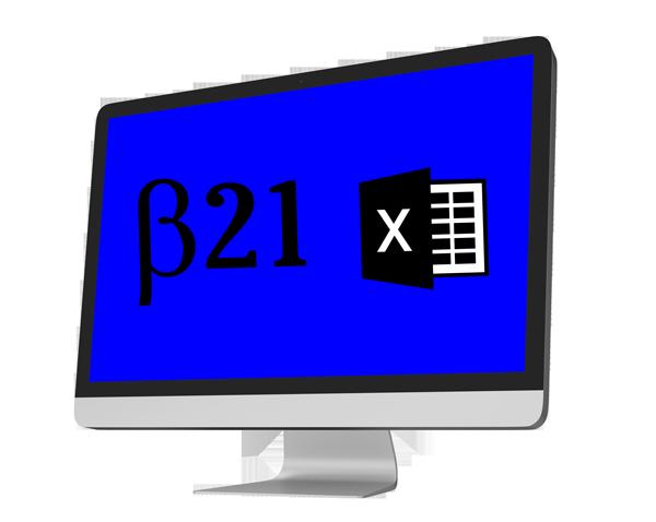 Planilha de orçamento Beta21