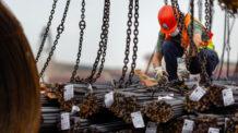Aço da Turquia para Combater a Alta dos Preços da Construção