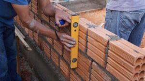 quantos tijolos por metro quadrado em uma parede de meia vez