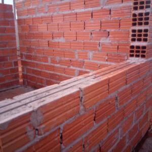 Quantos tijolos por metro quadrado em uma parede de uma vez