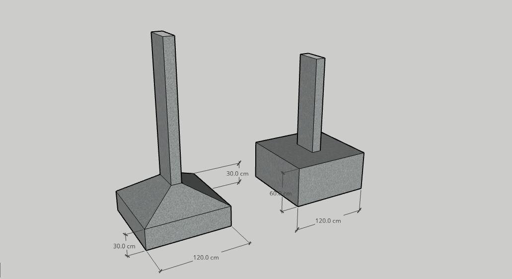 Qual fundação usar? Sapatas Isoladas